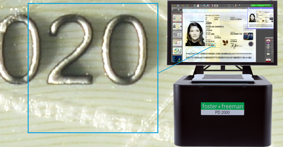 Introducing PD2000 Ultra-High Resolution Questioned Document Imaging System